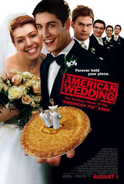 AMERICAN WEDDING (DOUBLE SIDED Regular) (2003) ORIGINAL CINEMA POSTER