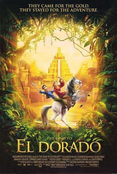 THE ROAD TO ELDORADO (DOUBLE SIDED Regular) (2000) ORIGINAL CINEMA POSTER