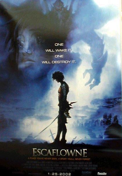 ESCAFLOWNE (2000) ORIGINAL CINEMA POSTER