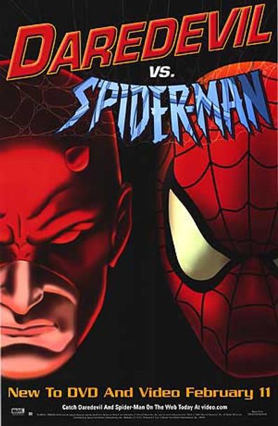 DAREDEVIL VS. SPIDERMAN (2003) ORIGINAL CINEMA POSTER