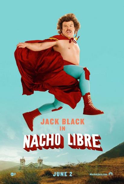 NACHO LIBRE (Jumpin Jack Turquoise) (2006) ORIGINAL CINEMA POSTER