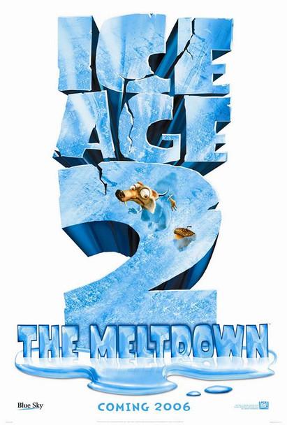 ICE AGE 2 (SINGLE SIDED Advance) (2006) ORIGINAL CINEMA POSTER