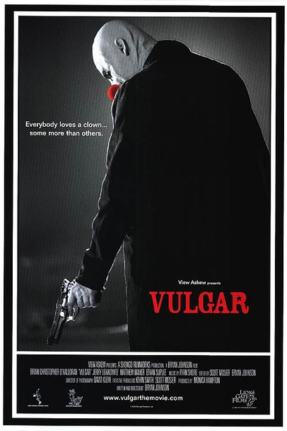 VULGAR (SINGLE SIDED Regular) (2000) ORIGINAL CINEMA POSTER