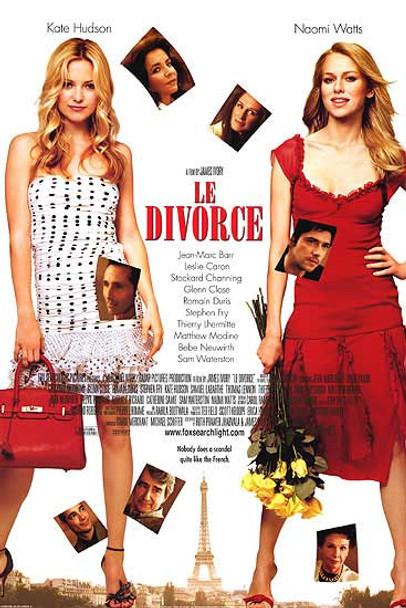 LE DIVORCE (DOUBLE SIDED International) (2003) ORIGINAL CINEMA POSTER