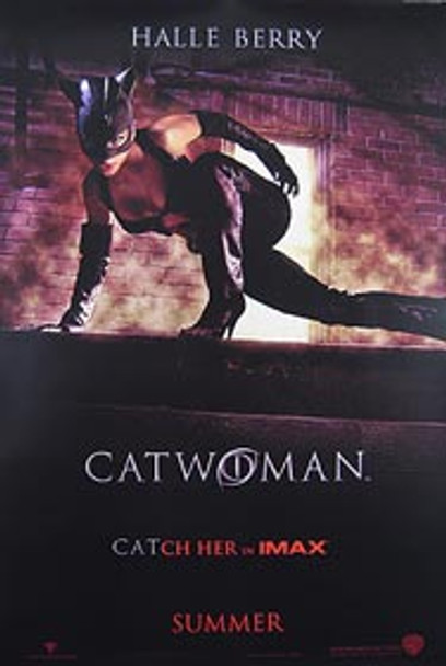 CATWOMAN (DOUBLE SIDED Advance IMAX) (2004) ORIGINAL CINEMA POSTER