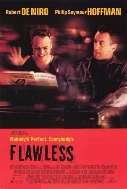 FLAWLESS (SINGLE SIDED Regular) (1999) ORIGINAL CINEMA POSTER