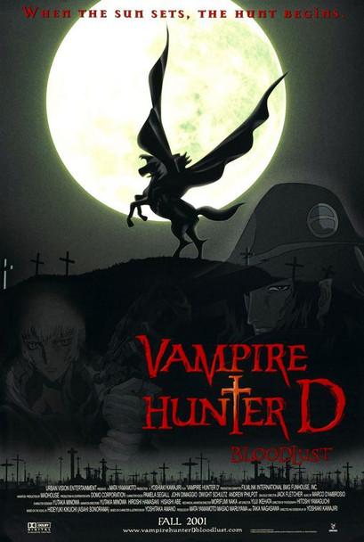 VAMPIRE HUNTER D (SINGLE SIDED Regular) (2000) ORIGINAL CINEMA POSTER