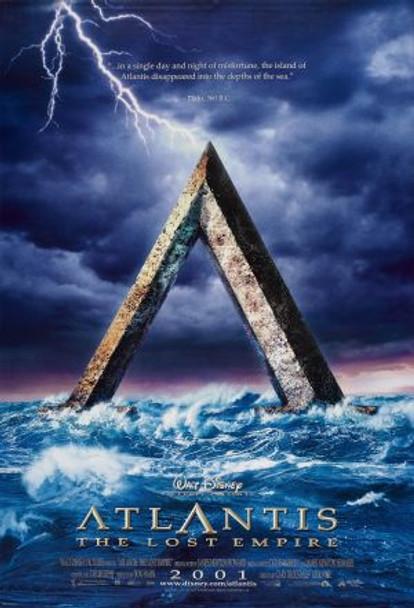 ATLANTIS (Advance) (2001) ORIGINAL CINEMA POSTER