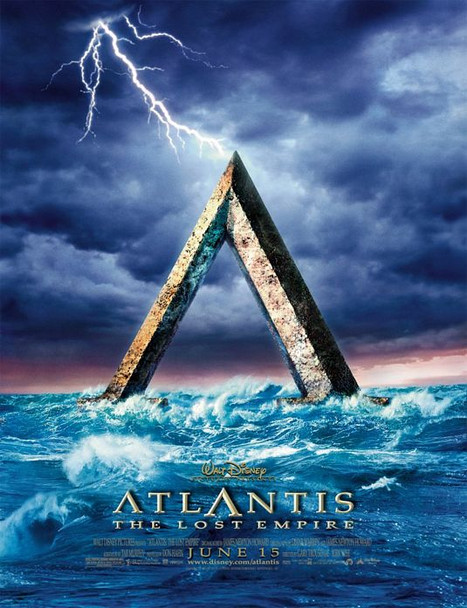 ATLANTIS (DOUBLE SIDED Advance) (2001) ORIGINAL CINEMA POSTER