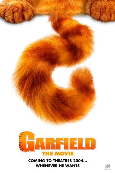 GARFIELD THE MOVIE (DOUBLE SIDED International Style B) (2004) ORIGINAL CINEMA POSTER