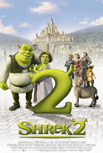SHREK 2 (Style A) (2004) ORIGINAL CINEMA POSTER