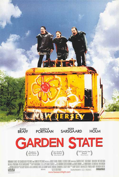 Garden State Reprint Cinema Poster