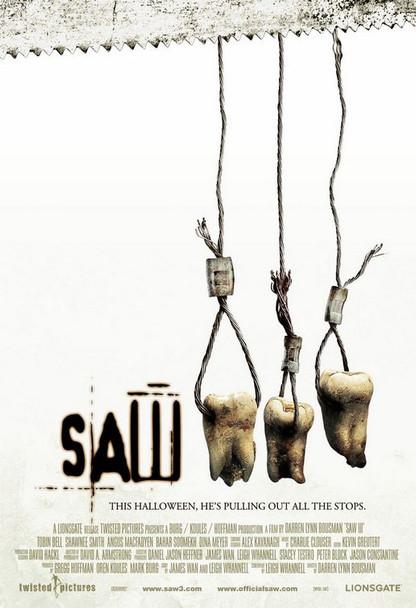 Saw Iii (Double Sided Regular Style C) (2006) Original Cinema Poster