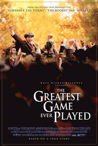 THE GREATEST GAME EVER PLAYED (2005) ORIGINAL CINEMA POSTER