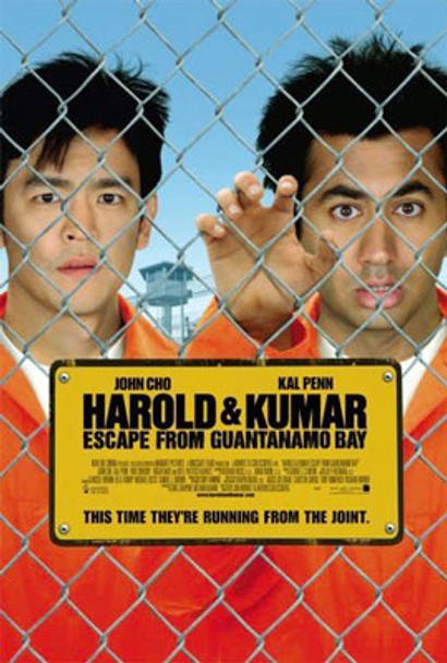 HAROLD & KUMAR ESCAPE FROM GUANTANAMO BAY (Single Sided Mini Poster) (2008) Original Mini CINEMA POSTER