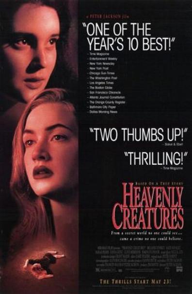 HEAVENLY CREATURES (1994) ORIGINAL CINEMA POSTER