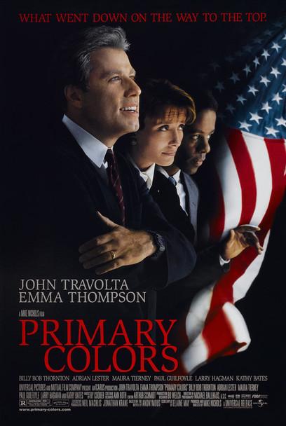 PRIMARY COLORS (1998) ORIGINAL CINEMA POSTER