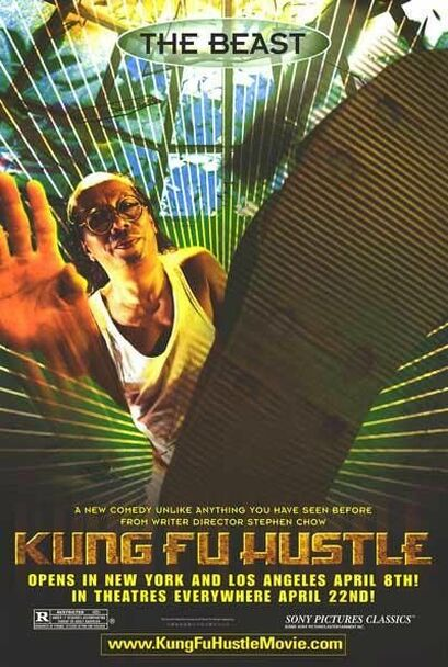 KUNG FU HUSTLE (The Beast) (2004) ORIGINAL CINEMA POSTER