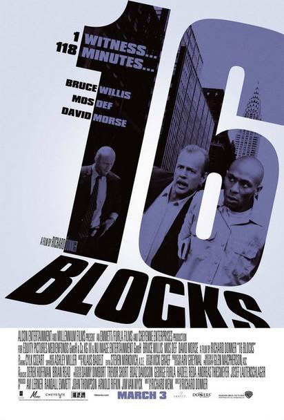 16 BLOCKS (Double-sided Regular) (2006) ORIGINAL CINEMA POSTER