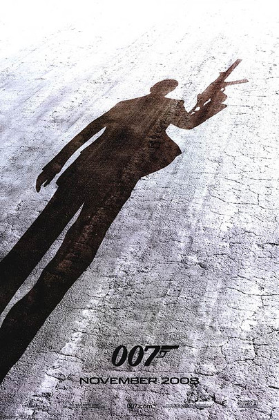 QUANTUM OF SOLACE (DOUBLE SIDED International Advance) (2008) ORIGINAL CINEMA POSTER