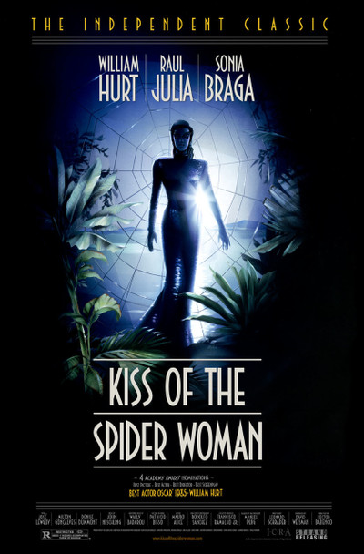 KISS OF THE SPIDER WOMAN (Re-release) (1985) ORIGINAL CINEMA POSTER