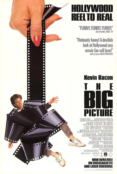 THE BIG PICTURE (SINGLE SIDED Video) (1989) ORIGINAL CINEMA POSTER