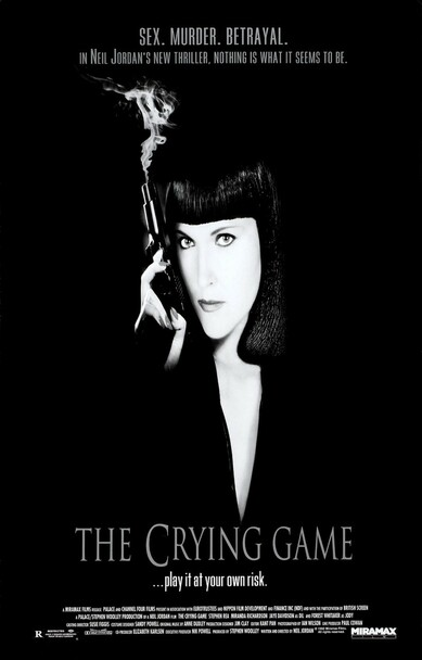 THE CRYING GAME (SINGLE SIDED Regular) (1992) ORIGINAL CINEMA POSTER