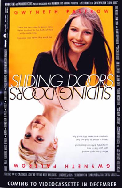 SLIDING DOORS (Video) (1998) ORIGINAL CINEMA POSTER