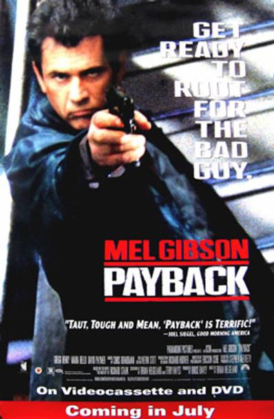 PAYBACK (Video) (1999) ORIGINAL CINEMA POSTER