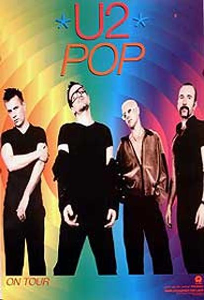 U2 - POP (1997) ORIGINAL CINEMA POSTER