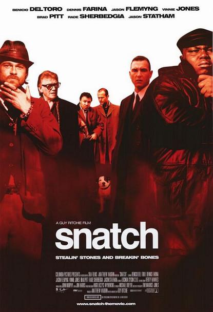SNATCH (SINGLE SIDED Regular International Style B) (2000) ORIGINAL CINEMA POSTER