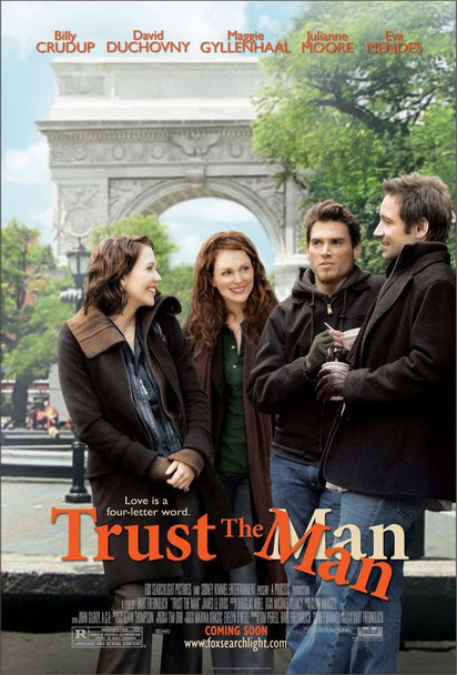 TRUST THE MAN (DOUBLE SIDED Advance) (2005) ORIGINAL CINEMA POSTER