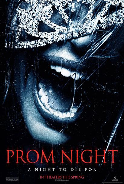 PROM NIGHT (DOUBLE SIDED Advance) (2008) ORIGINAL CINEMA POSTER