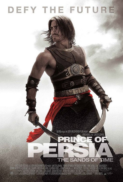 PRINCE OF PERSIA: THE SANDS OF TIME   double sided US ONE SHEET (2010) ORIGINAL CINEMA POSTER