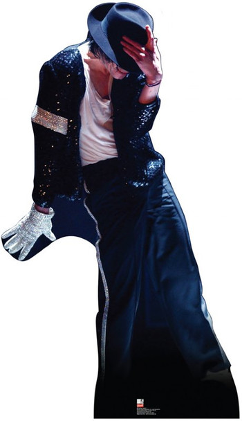 Michael Jackson (white glove and hat) Lifesize Cardboard Cutout / Standee