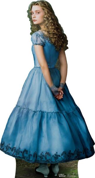 Alice - Mia Wasikowska (Disney's Alice In Wonderland) (2010) - Lifesize Cardboard Cutout / Standee