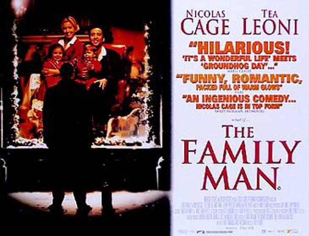 THE FAMILY MAN ORIGINAL CINEMA POSTER