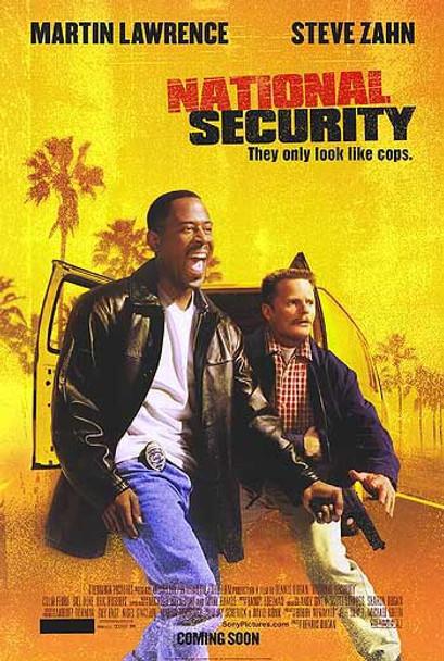 NATIONAL SECURITY (Double Sided Regular) ORIGINAL CINEMA POSTER