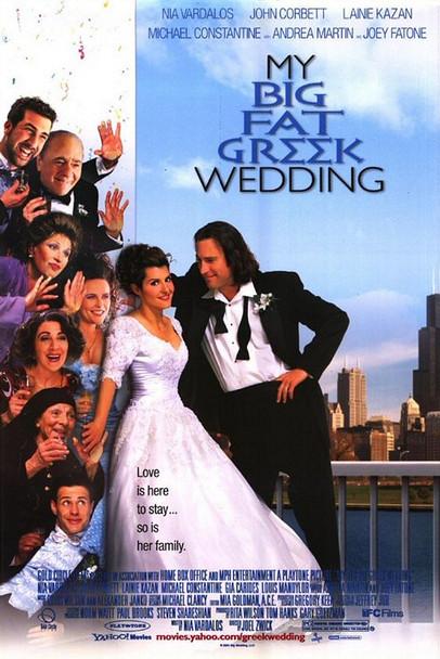 MY BIG FAT GREEK WEDDING (Regular Reprint) REPRINT POSTER