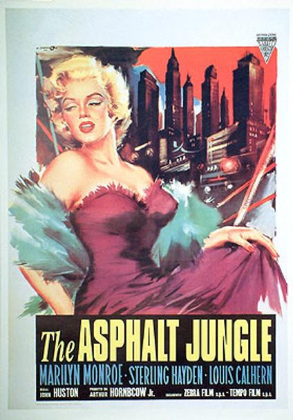 ASPHALT JUNGLE (Reprint) REPRINT POSTER