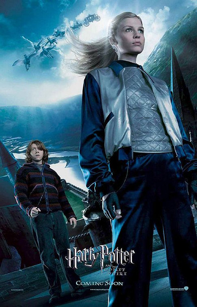 HARRY POTTER AND THE GOBLET OF FIRE (Single-sided Reprint Fleur Delaco REPRINT POSTER