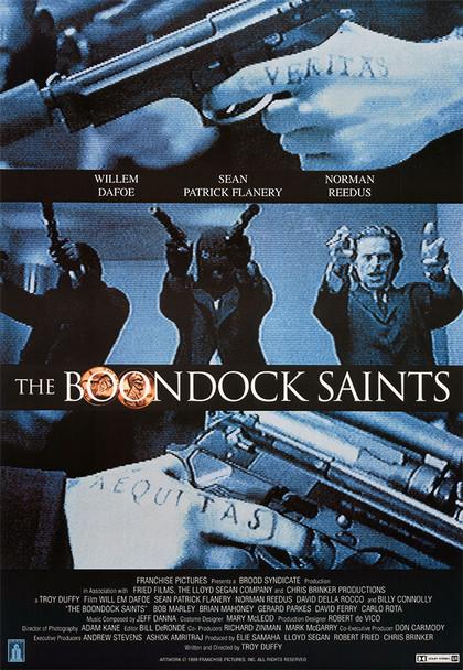 THE BOONDOCK SAINTS (Reprint) REPRINT POSTER