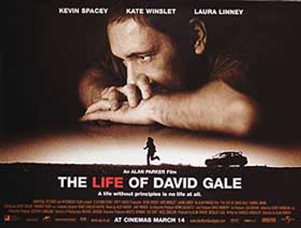 THE LIFE OF DAVID GALE ORIGINAL CINEMA POSTER
