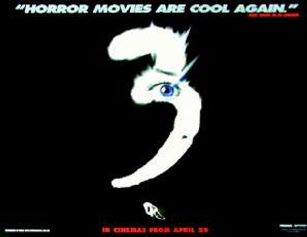 SCREAM 3 (Advance) ORIGINAL CINEMA POSTER