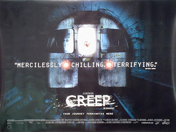 CREEP ORIGINAL CINEMA POSTER