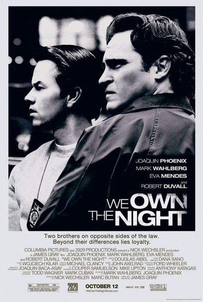 WE OWN THE NIGHT (Double Sided Regular) ORIGINAL CINEMA POSTER