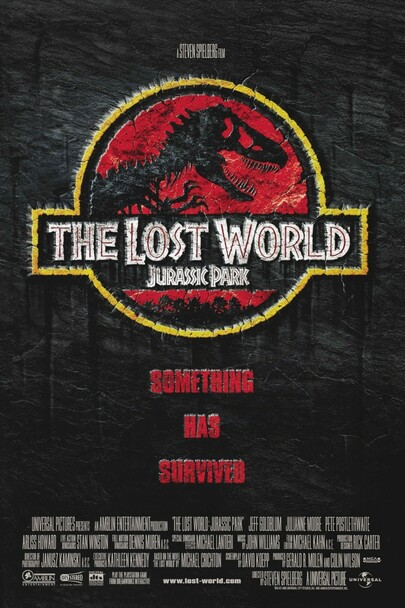 The Lost World Jurassic Park (Regular) Original Cinema Poster