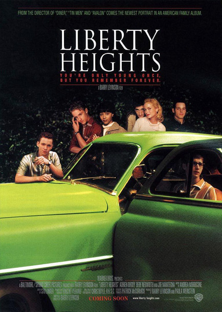 LIBERTY HEIGHTS (DOUBLE SIDED) ORIGINAL CINEMA POSTER