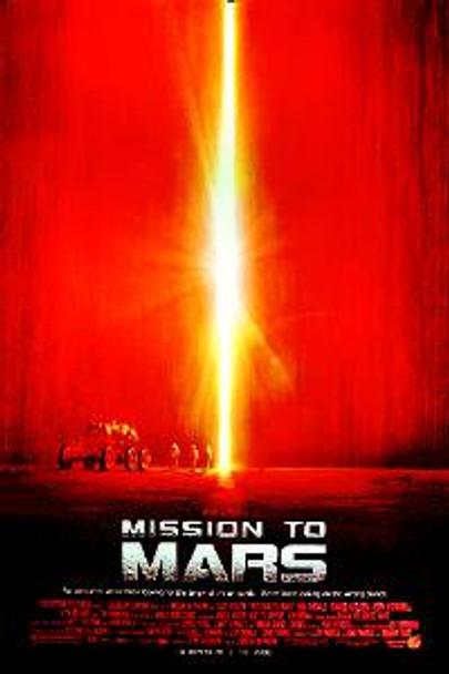 MISSION TO MARS (Regular) ORIGINAL CINEMA POSTER