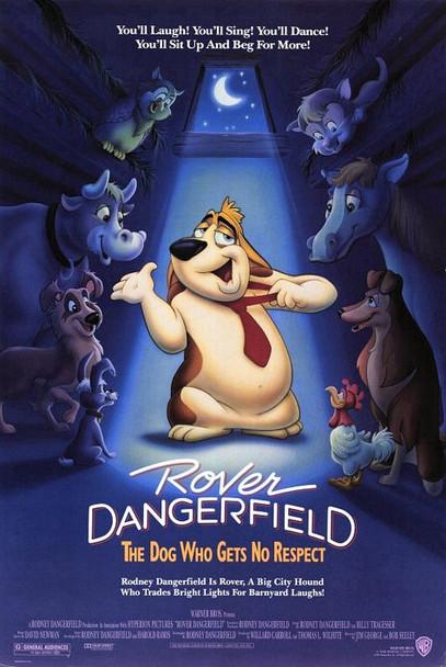 ROVER DANGERFIELD ORIGINAL CINEMA POSTER